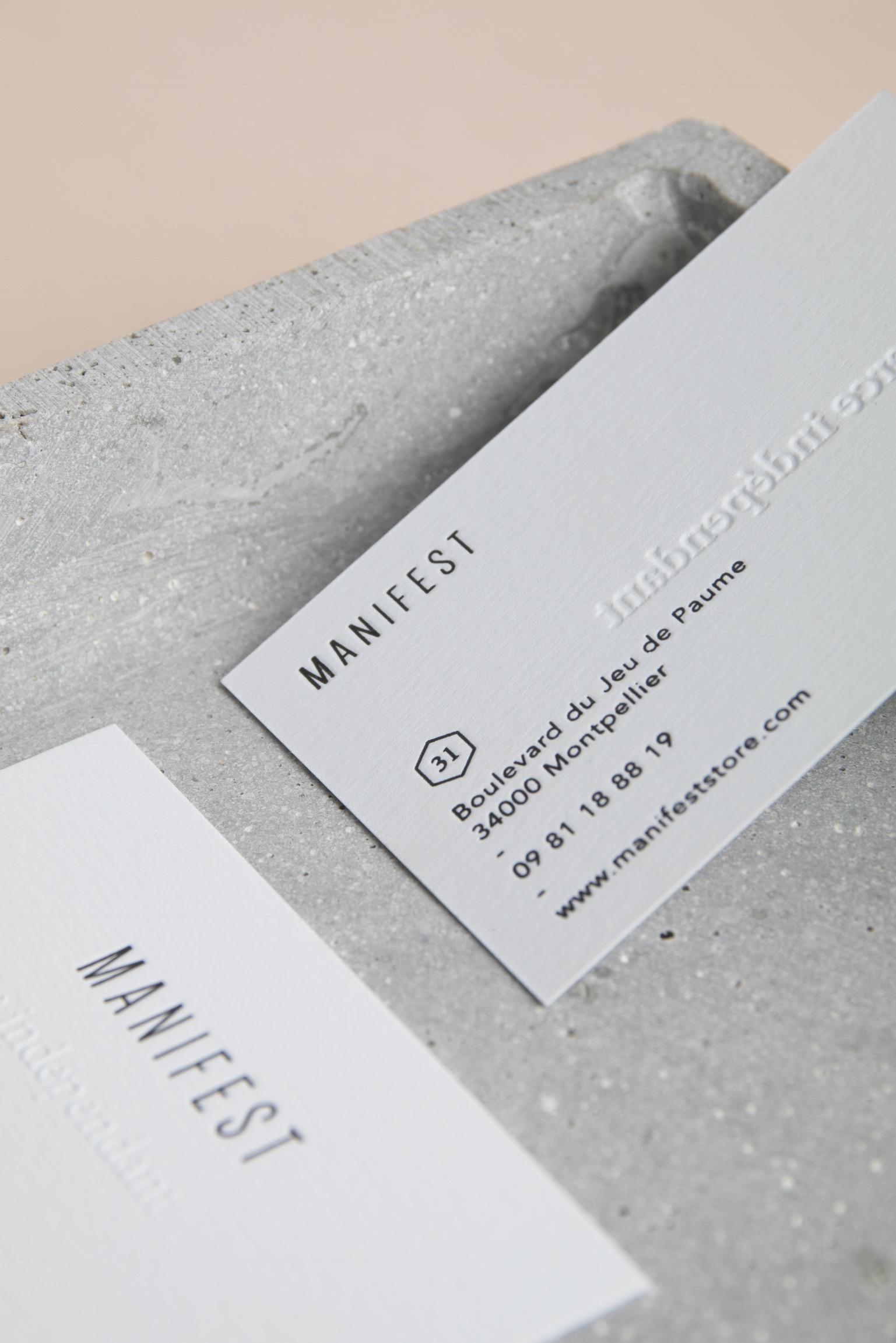 alexia roux manifest majestic montpellier graphisme identité logo letterpressdeparis